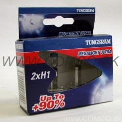Tungsram GE Megalight Ultra +90% H1 55W Set 2ks