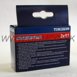 Tungsram GE Megalight Ultra +90% H1 55W Set 2ks - obr. 1