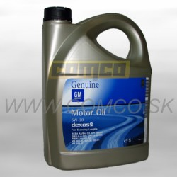 GM Genuine Motor Oil DEXOS 2 SAE 5W-30 5L