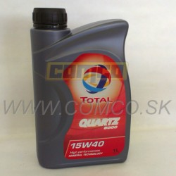 Total QUARTZ 5000 SAE 15W-40 1L