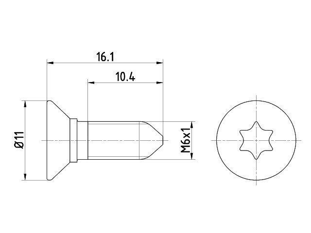 dc54eeb86ef26 Skrutka brzdového kotúča TEXTAR TPM0008 | COMCO Náhradné diely ...