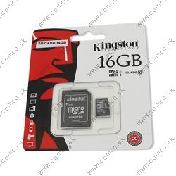 Mikro SDHC karta SD CARD 16GB