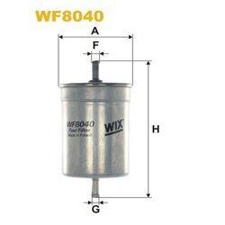 Palivový filter WIX FILTERS WF8040