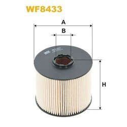 Palivový filter WIX FILTERS WF8433