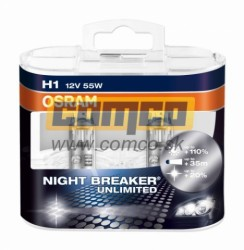 OSRAM H1 Night Breaker Unlimited +110% 55W Set 2ks