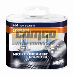 OSRAM H4 Night Breaker Unlimited +110% 60/55W Set 2ks