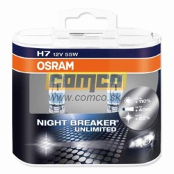 OSRAM H7 Night Breaker Unlimited +110% 55W Set 2ks