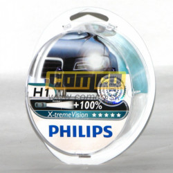 PHILIPS X-treme Vision +100% H1 55W Set 2ks